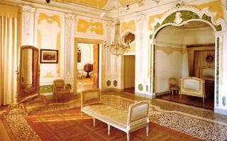 Villa manin for Interni ville antiche